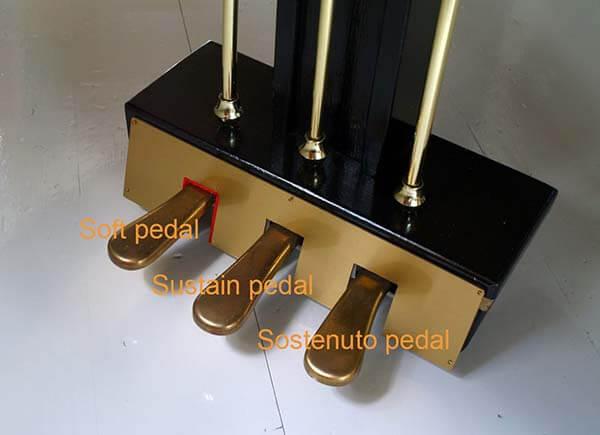 Phân loại pedal đàn piano