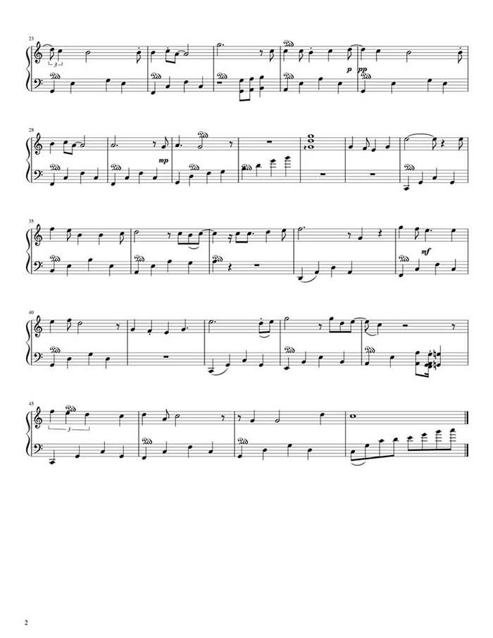 Sheet nhạc piano Nàng thơ | Hoàng Dũng